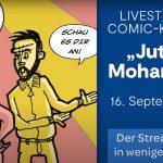 """Comic-Konzert """"Jutta und Mohammed – aus Fremden werden Freunde"""""""